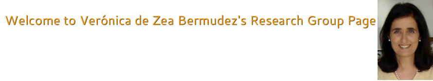 Welcome to Verónica de Zea Bermudez's <br />Group